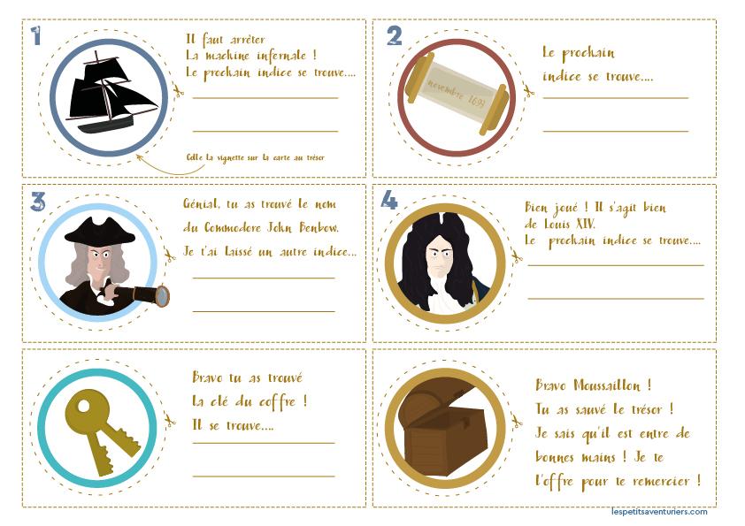 Carte Au Tresor Nom Anglais.Une Chasse Au Tresor Gratuite Pour Petit Pirate Les Petits