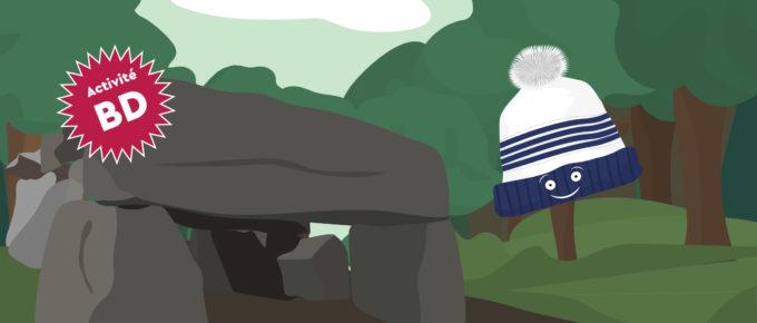 Tuktuk et le dolmen de la roche aux fées