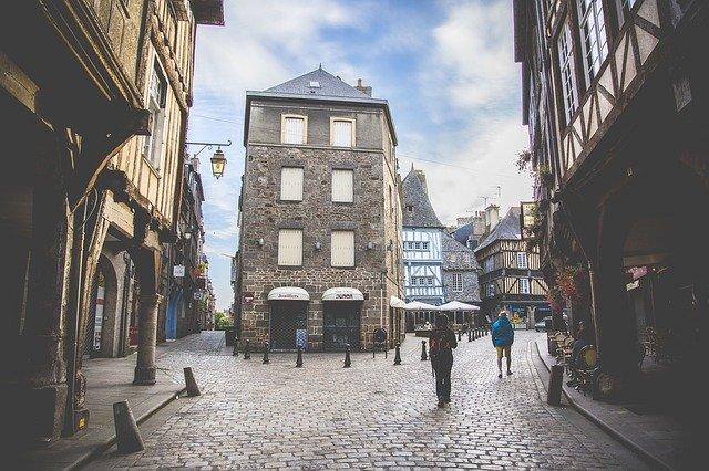 Rues médiévales de Dinan